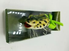 Chuck Woolery Moto  Frog Live Action Fishing Lure Rare - New