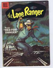 Lone Ranger #107 Dell Pub 1957