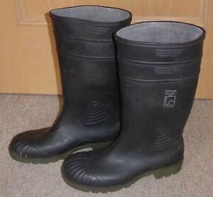 Dunlop-Hevea Acifort - Gummistiefel -(ähnl. Purofort) Gr.44 - Sicherheitsstiefel