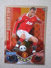 Match Attax 2010/11 - Showboat card - Dimitar Berbatov of Manchester United