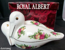 OLD COUNTRY ROSES DUCKS ORNAMENT, 1st QUALITY, VGC, ROYAL ALBERT