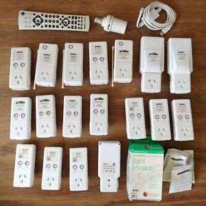 Home Automation X10 Components Lot inc. EON3, CM15, HA125, HA113, HA103, Winplus