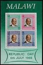 Malawi postfris 1966 MNH block 7 - Republic Day (S2336)