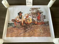 "Vintage, Gordon Snidow ""Good Times"" 1983 Coors Print, Not Framed"