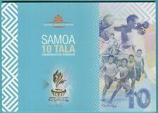 Samoa 10 Tala 2019 UNC**New - Polymer / Commemorative w/folder