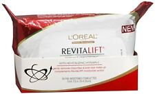 L'Oreal Dermo-Expertise Revitalift Wet Cleansing Towelettes 30 Each (Pack of 3)