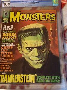 Famous Monsters of Filmland # 56 CGC 9.4 !