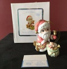 Precious Moments Share Love 2009 Ring With Joy 101068 Christmas Ornament Figure