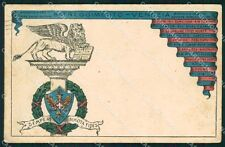 Militari Reggimentali 84º Reggimento Fanteria Venezia PIEGHINE cartolina XF5563
