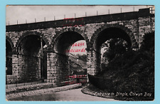 Colwyn Bay, entrance to Dingle.dated 1916. Published by Valentines.