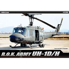 1/48 ROK UH-1D/H Academy Hobby Model Kits Military Plastic Model #12308