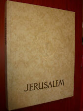 JERUSALEM Holy Land Palestine Israel Vintage 1960