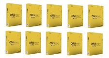 Microsoft Office MAC 2011 Home and Student x 10 pcs