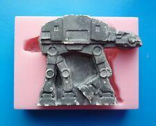 10cm Star Wars en Walker de Silicona Molde para Cake Toppers, Chocolate, Arcilla Etc