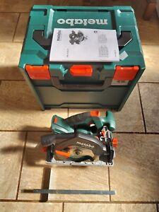 Metabo KS 18 LTX 57 18V 165mm Circular Saw (Body Only) + Meta-Box Case & Inlay