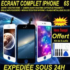 VITRE TACTILE + ECRAN LCD COMPLET POUR IPHONE  6S NOIR / BLANC BLOC ECRAN IPHONE