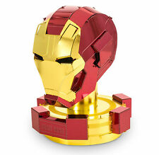 Fascinations Metal Earth 3D Laser Cut Steel Model Kit Marvel Iron Man Helmet