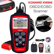 Konnwei KW808 Car Fault Code OBD2 EOBD Diagnostic Scanner MIL Reset Reader US
