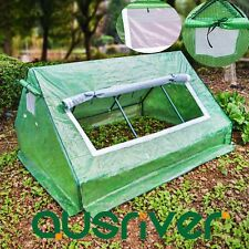 180x142x97cm Apex Roof Greenhouse Green House Ventilated Window Insect Screen