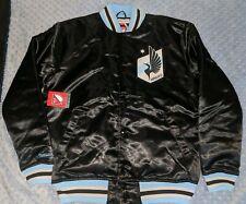Mitchell & Ness Minnesota United FC Antigua Women's Strut Bomber Jacket Sz-M