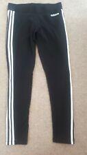 Ladies Black Adidas Gym Leggings - Size 12-14