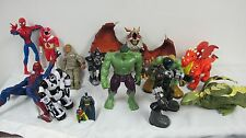 BOY TOY LOT FIGURES DRAGONS SPIDERMAN IMAGINEXT BABY NORBERT GI JOE TOUGH DUKE