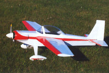 1/5 Scale Aerobatic Stevens Super Akro-1 Plans, Templates and Instructions 55ws