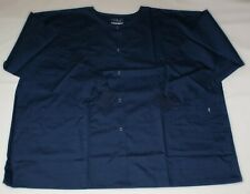 NEW Scrubs ~  Scrub Jacket ~ 3X ~ Navy