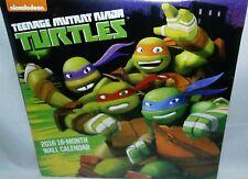 "Teenage Mutant Ninga Turtles  2016 12-Month Wall Calendar. Full Color 10"" X 10""."