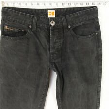 Mens HUGO BOSS ORANGE 25 Regular Straight Grey Jeans W31 L30