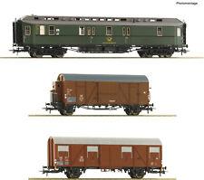 ÖBB Set: Offene Güterwagen NEUHEIT 2020 Mit Schrottbeladung Roco 76082 3-tlg