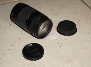CANON EF III  Lens DSLR AF 75 - 300 mm f 4 - 5.6 ZOOM  TELEPHOTO AUTOFOCUS