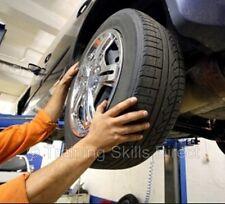 Auto Car Mechanic Repair Gears Body Training Book Course