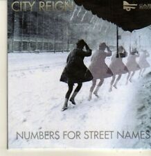 (CP100) City Reign, Numbers For Street Names - 2011 DJ CD