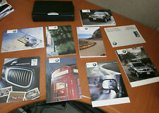 2004 BMW 5-SERIES OWNERS MANUAL SET W/ Case
