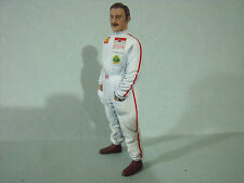 GRAHAM  HILL 1/18  UNPAINTED  FIGURE  MADE  BY  VROOM   FOR  LOTUS  F1   MATRA