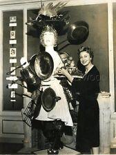 COLETTE MARS 1950 2 VINTAGE PHOTOS ORIGINAL LOT