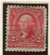 USA; 1902-08 early Presidential series, Wmk 87 Perf 12 fine used 2c. value