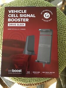 weBoost Drive Sleek 470135 Vehicle Cell Phone Signal Booster Kit