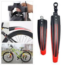 Outdoor Mountain Bicycle Road Tire Front Rear Mudguard Fender Mud Guard Kit US