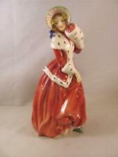 Vintage Royal Doulton Figurine Lady Christmas Morn HN 1992 7 in 1946