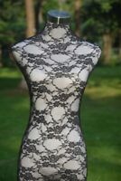 Black Handmade Lace Material Cover for Female Mannequin Dress Model Dummy H001