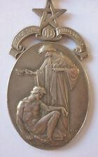Orden, Freimaurer, Aegros Sanat Humanitas Masonic, Silber             (Art.2948)