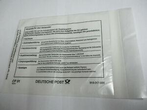 ( RL10) Versandtaschen Zoll CP91 Deutsche Post 915-317-000 DHL