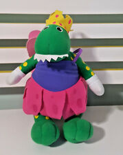 DOROTHY THE DINOSAUR WIGGLES PLUSH TOY! SOFT TOY 29CM  KIDS TOY! FAIRY WINGS!
