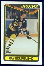 1990-91 TOPPS BOSTON BRUINS TEAM SET (20)
