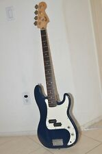 Fender Squier P-Bass Guitar Navy Blue with Bag