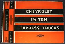 1933 Chevrolet 1.5-Ton Express Pickup Truck Brochure Excellent Original 33
