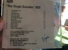 AIR RARE PROMO CD THE VIRGIN SUICIDES  VIRGIN UK