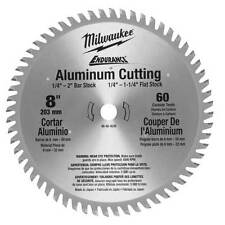 Milwaukee 48-40-4530 8-Inch 60 Tooth Metal Cutting Aluminum Circular Saw Blade